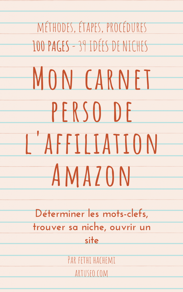 guide gratuit affiliation amazon